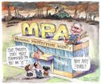 Cartoonist Matt Wuerker  Matt Wuerker's Editorial Cartoons 2017-10-18 Donald Trump
