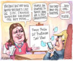 Cartoonist Matt Wuerker  Matt Wuerker's Editorial Cartoons 2018-02-22 Sarah