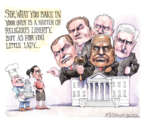 Cartoonist Matt Wuerker  Matt Wuerker's Editorial Cartoons 2018-06-05 little