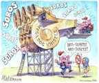 Cartoonist Matt Wuerker  Matt Wuerker's Editorial Cartoons 2019-02-12 editorial