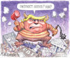 Cartoonist Matt Wuerker  Matt Wuerker's Editorial Cartoons 2019-02-21 editorial