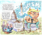 Cartoonist Matt Wuerker  Matt Wuerker's Editorial Cartoons 2019-07-18 administration