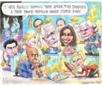 Cartoonist Matt Wuerker  Matt Wuerker's Editorial Cartoons 2019-08-02 administration