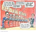 Cartoonist Matt Wuerker  Matt Wuerker's Editorial Cartoons 2007-05-29 2008 debate
