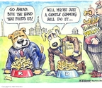 Cartoonist Matt Wuerker  Matt Wuerker's Editorial Cartoons 2007-07-10 treat