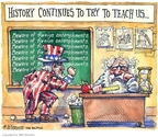 Cartoonist Matt Wuerker  Matt Wuerker's Editorial Cartoons 2007-07-19 Vietnam War