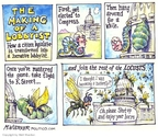 Cartoonist Matt Wuerker  Matt Wuerker's Editorial Cartoons 2007-07-26 flight