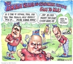 Cartoonist Matt Wuerker  Matt Wuerker's Editorial Cartoons 2007-10-17 Bill O'Reilly