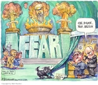 Cartoonist Matt Wuerker  Matt Wuerker's Editorial Cartoons 2007-12-05 nuclear weapon