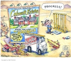Cartoonist Matt Wuerker  Matt Wuerker's Editorial Cartoons 2007-12-13 2003