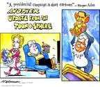 Matt Wuerker  Matt Wuerker's Editorial Cartoons 2008-01-31 2008 election endorsement