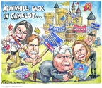 Matt Wuerker  Matt Wuerker's Editorial Cartoons 2008-02-05 2008 election endorsement