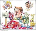 Matt Wuerker  Matt Wuerker's Editorial Cartoons 2008-02-14 2008 primary