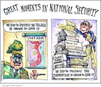 Cartoonist Matt Wuerker  Matt Wuerker's Editorial Cartoons 2008-02-21 Vietnam War