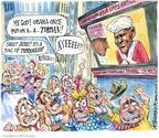 Matt Wuerker  Matt Wuerker's Editorial Cartoons 2008-02-29 2008 primary