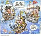 Matt Wuerker  Matt Wuerker's Editorial Cartoons 2008-03-25 2008 primary