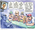 Cartoonist Matt Wuerker  Matt Wuerker's Editorial Cartoons 2008-05-28 pledge