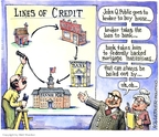 Cartoonist Matt Wuerker  Matt Wuerker's Editorial Cartoons 2008-07-17 trap