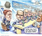 Cartoonist Matt Wuerker  Matt Wuerker's Editorial Cartoons 2008-08-12 behavior