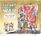 Cartoonist Matt Wuerker  Matt Wuerker's Editorial Cartoons 2006-08-15 Russia