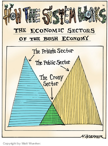 Cartoonist Matt Wuerker  Matt Wuerker's Editorial Cartoons 2005-10-28 cronyism