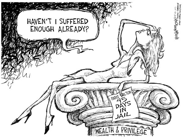 Cartoonist Nick Anderson  Nick Anderson's Editorial Cartoons 2007-05-10 punishment
