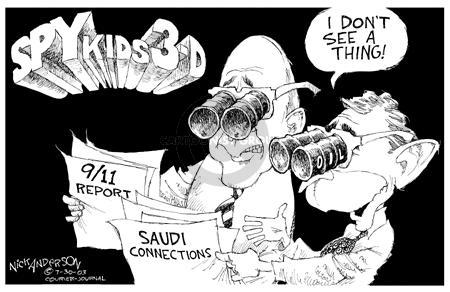 Cartoonist Nick Anderson  Nick Anderson's Editorial Cartoons 2003-07-30 vision