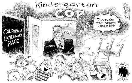 Nick Anderson  Nick Anderson's Editorial Cartoons 2003-08-08 classroom