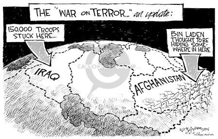Nick Anderson  Nick Anderson's Editorial Cartoons 2003-08-12 warfare