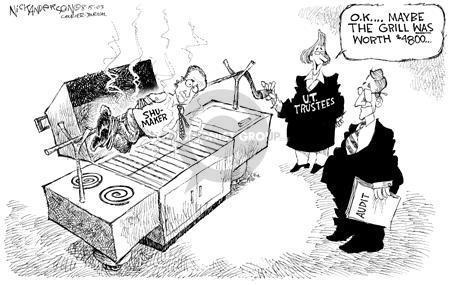 Cartoonist Nick Anderson  Nick Anderson's Editorial Cartoons 2003-08-15 review