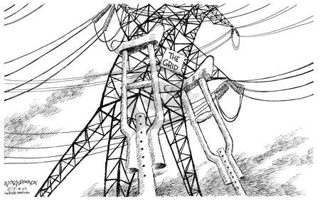 Nick Anderson  Nick Anderson's Editorial Cartoons 2003-08-19 energy