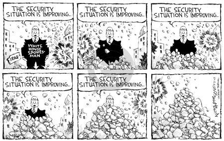 Nick Anderson  Nick Anderson's Editorial Cartoons 2003-08-21 security
