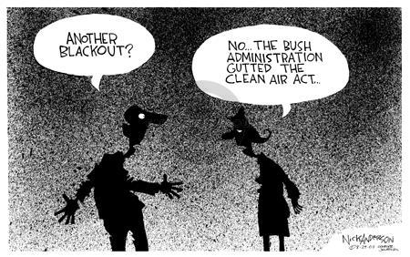 Cartoonist Nick Anderson  Nick Anderson's Editorial Cartoons 2003-08-29 control