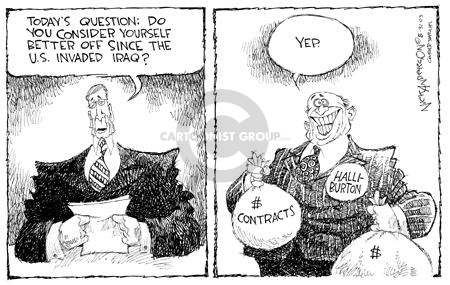 Nick Anderson  Nick Anderson's Editorial Cartoons 2003-08-31 invasion