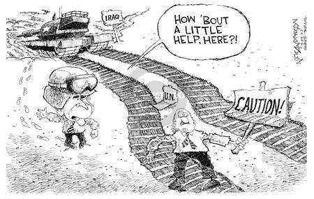 Nick Anderson  Nick Anderson's Editorial Cartoons 2003-09-04 security