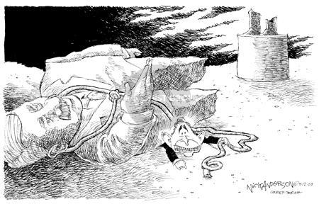 Nick Anderson  Nick Anderson's Editorial Cartoons 2003-09-12 Saddam