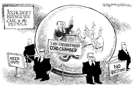 Cartoonist Nick Anderson  Nick Anderson's Editorial Cartoons 2003-09-19 chamber