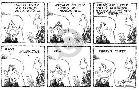 Cartoonist Nick Anderson  Nick Anderson's Editorial Cartoons 2003-09-21 ignore