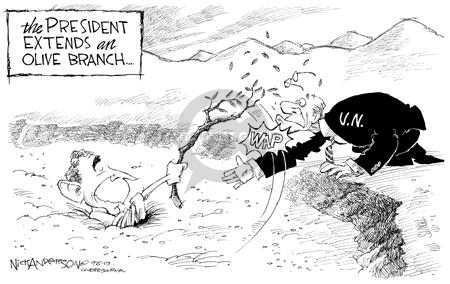 Nick Anderson  Nick Anderson's Editorial Cartoons 2003-09-25 foreign aid