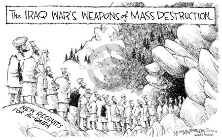 Cartoonist Nick Anderson  Nick Anderson's Editorial Cartoons 2003-09-30 Al Qaeda
