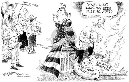 Nick Anderson  Nick Anderson's Editorial Cartoons 2003-10-02 Saddam