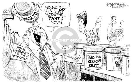 Cartoonist Nick Anderson  Nick Anderson's Editorial Cartoons 2003-10-14 rush