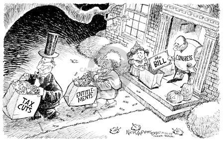 Nick Anderson  Nick Anderson's Editorial Cartoons 2003-10-26 population