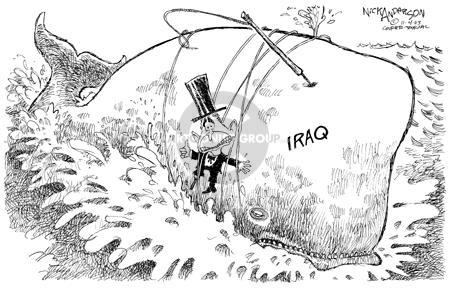 Nick Anderson  Nick Anderson's Editorial Cartoons 2003-11-04 damage