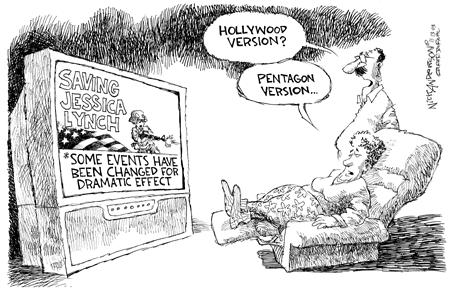Nick Anderson  Nick Anderson's Editorial Cartoons 2003-11-13 defense department