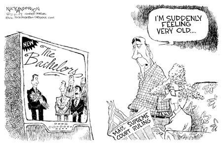 Cartoonist Nick Anderson  Nick Anderson's Editorial Cartoons 2003-11-21 generation