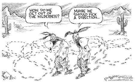 Cartoonist Nick Anderson  Nick Anderson's Editorial Cartoons 2003-12-03 political party