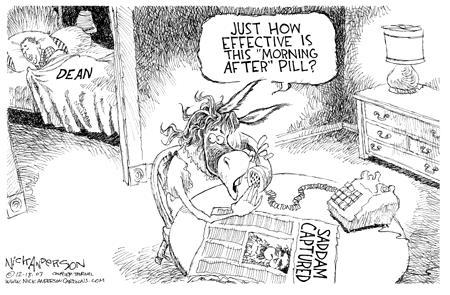 Nick Anderson  Nick Anderson's Editorial Cartoons 2003-12-18 Saddam
