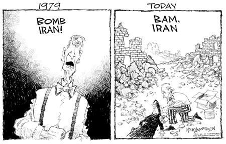 Cartoonist Nick Anderson  Nick Anderson's Editorial Cartoons 2004-01-02 disaster