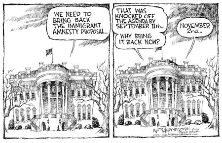 Cartoonist Nick Anderson  Nick Anderson's Editorial Cartoons 2004-01-08 policy